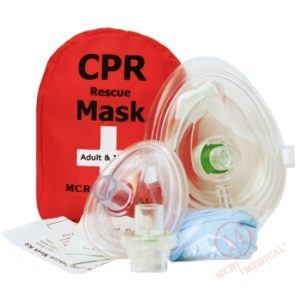 Item RM-2071 CPR Rescue Mask MCR Medical