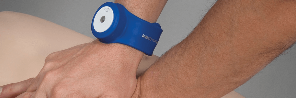 Wearing a CPR Feedback Device on the Wrist