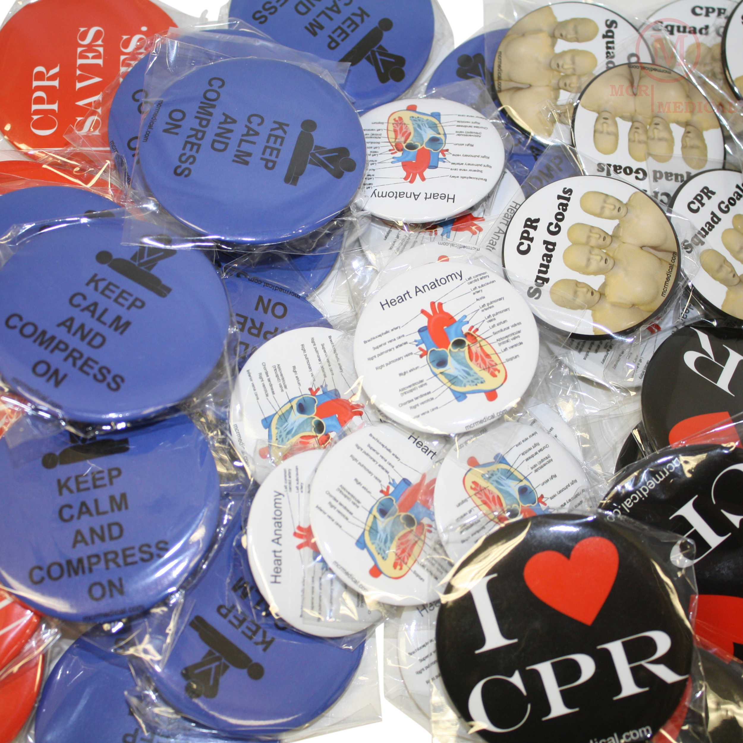 CPR Buttons-Student Handout: MCR Medical