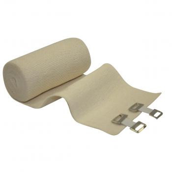 4 Elastic Bandages With Clips Premium Mcr Medical