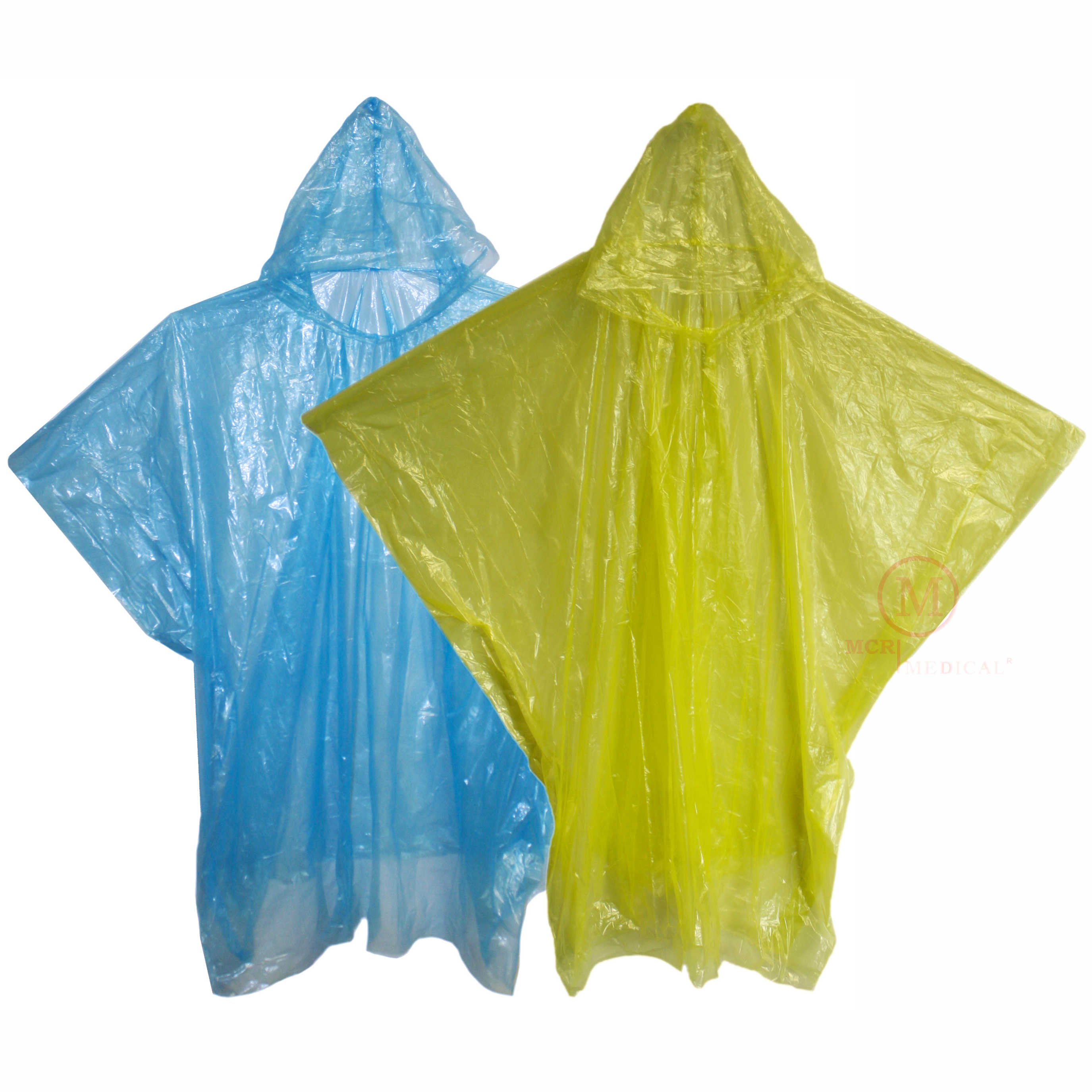 Emergency First Aid Kit With Rain Poncho And Mask