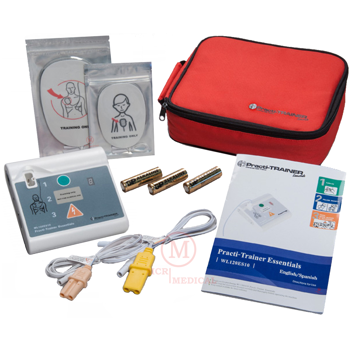 AED Practi-Trainer Essentials, Single, WNL Safety